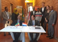ATA signing ceremony at the Netherlands Embassy