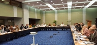 Round-table discussion of subsidence in Jakarta, 26-5-2016