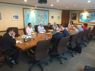 Meeting with the whole team and investors in Jakarta