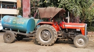 water truck in Dhaka