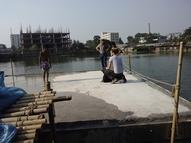 Floating Base for Sanitation Unit (HBRI)