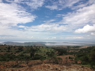 Lake Langano, one of the three lakes in the Central Rift Valley landscape.