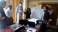 Working together for preparing a gantt chart till June 2016.