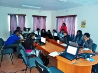 GIS and Remote sensing class,