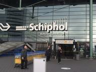 Arriving in Schiphol