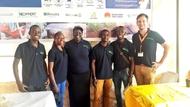 Part of team Uganda at the Harvest Money Expo, Kampala 2018