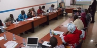 Discussion in full swing during the Causerie debat at SNV office in Bamako