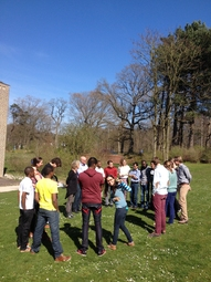 Day 1: Dutch and Local Young Experts on the MBTI Teambuilding day.