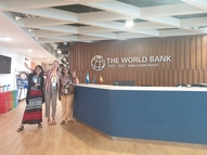 Meeting with the ADSP project at World Bank, Yangon