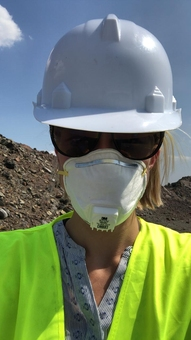 Selfie in the coalmine
