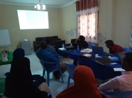 IERT project kickoff meeting in Mogadishu, Somalia