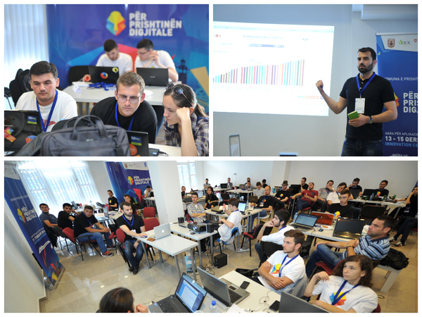 """For Digital Prishtina"" - 2nd day of the Hackathon"