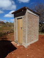 First Latrines completed
