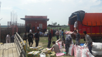 Setting up relief distribution