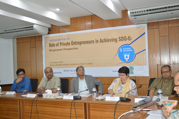 Role of Private Entrepreneurs in Achieving SDG-6