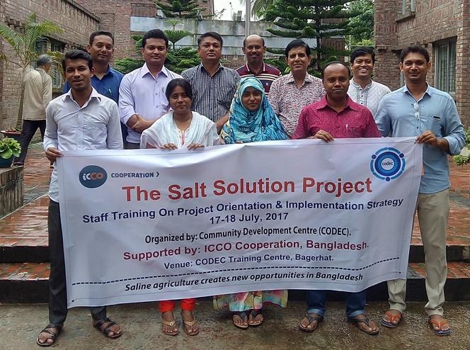 The Salt Solution- An Orientation