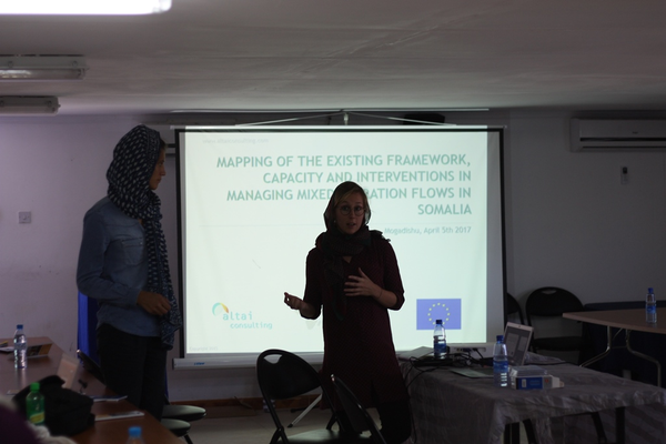 Presentation: Mapping of migration flows in Somalia - 5 April 2017, Mogadishu