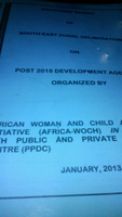 Nigeria Post 2015 Consultation