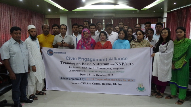 Basic Nutrition and NNP/2015 Training for CSOs