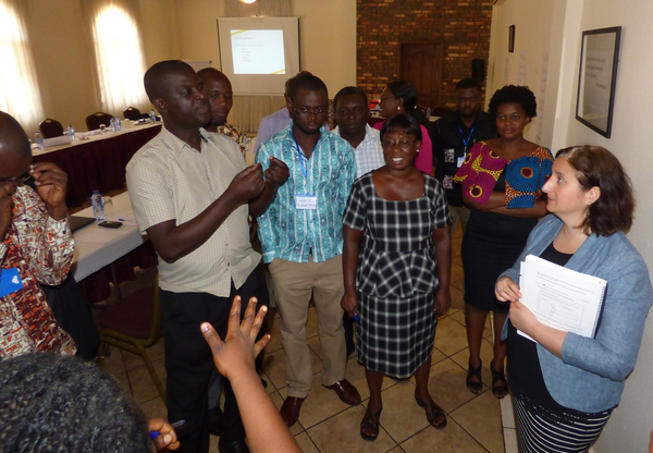 Lobby and Advocacy Watershed programme workshop