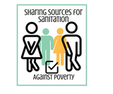 Join us: LOGO Sharing Sources for Sanitation and Against Poverty