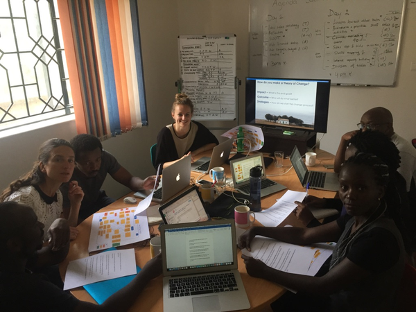 The Akvo Theory of Change in East Africa