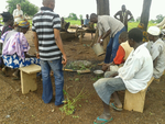Demonstration of compost preparation