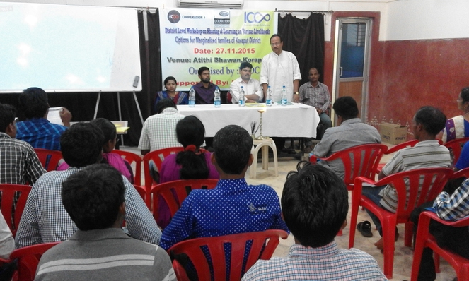 Dist level NGO workshop
