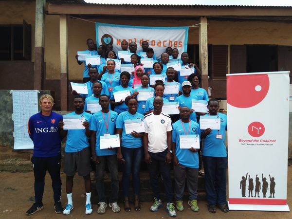 Graduation of World Coaches in Cape Coast