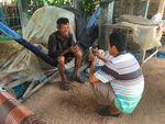 Akvo Flow training with rice supplier in Cambodia, June 2017