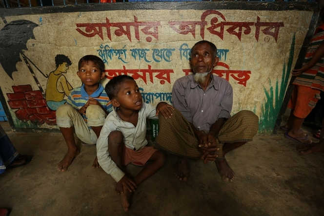 Coming to Bangladesh was not a choice but a necessity