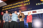 AMPL Award for Sanitation Entrepreneur Association in Dompu, West Nusa Tenggara
