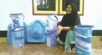 Story from the field: Sanitation Champion from Nusa Jaya Village, Dompu District