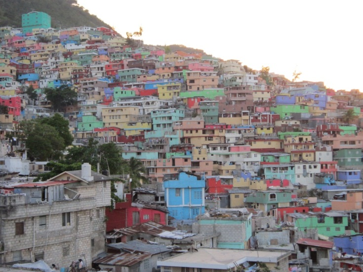 Akvo rsr hopeful colored houses for Canape vert haiti