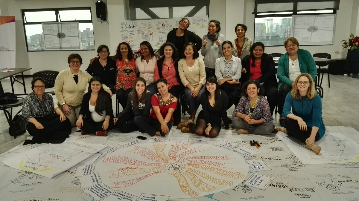Women as central agents for peacebuilding in Colombia